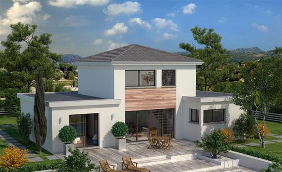 3 mod les de maisons tage en aquitaine ma future maison for Modele maison etage contemporaine