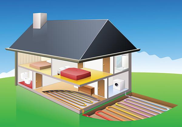 Syst me de chauffage la pompe chaleur ma future maison - Pompe a chaleur pour maison ...
