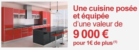 une cuisine quip e avec votre maison chez maisons pierre ma future maison. Black Bedroom Furniture Sets. Home Design Ideas