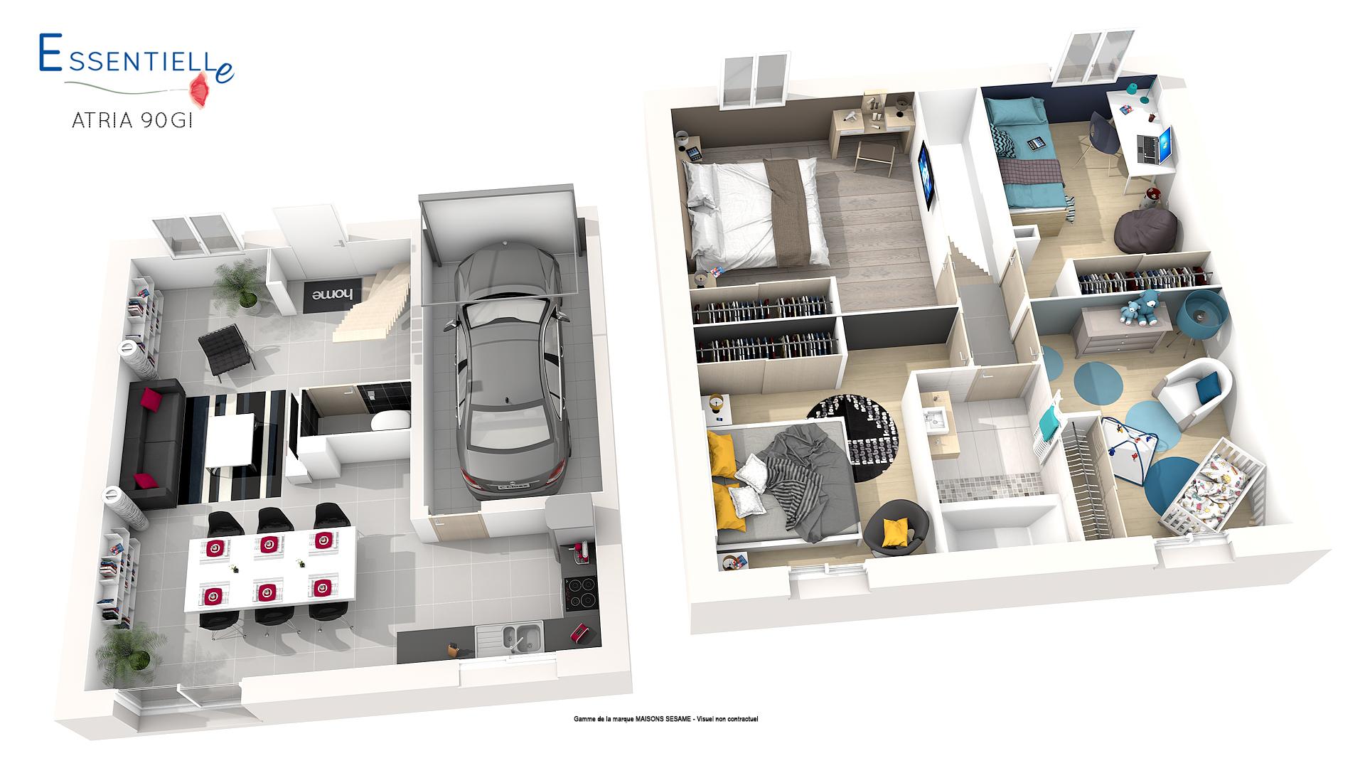 nf habitat hqe pour une maison durable environnementale. Black Bedroom Furniture Sets. Home Design Ideas