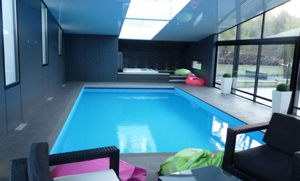 Piscine d 39 int rieur ma future maison for Prix piscine interieur