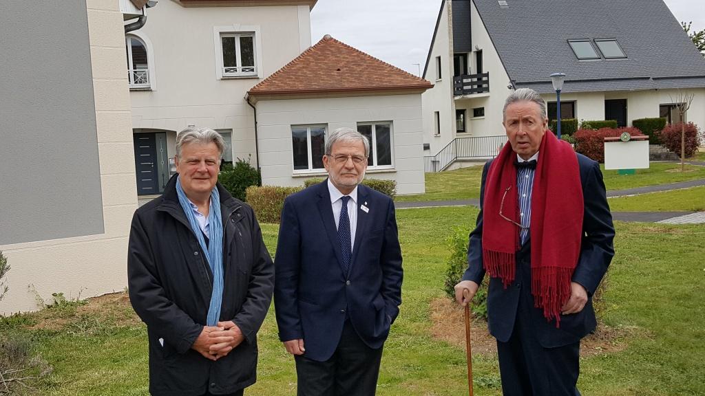 Inauguration village domexpo coigni res ma future maison for Village domexpo 91