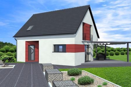 Maison neuve maison construire de 91m2 disponible for Construire maison 91