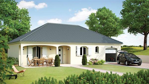 Recherche maison neuve ou maison individuelle 77 seine et for Exemple de maison plain pied