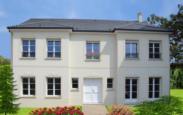 Une maison intemporelle et bbc sign e berval ma future for Alarme maison haut de gamme
