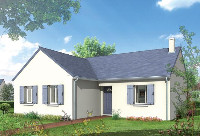 Mod les cobalt et lilas de maison castor ma future maison for Modele de maison en l