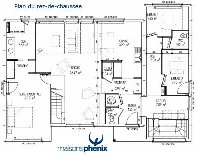 Six nouveaux mod les au domexpo de moisselles 95 ma - Plan maison 2 niveaux ...