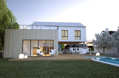 Maisons individuelles les laur ats du concours challenge umf 2013 ma futu - Geoxia maisons individuelles ...