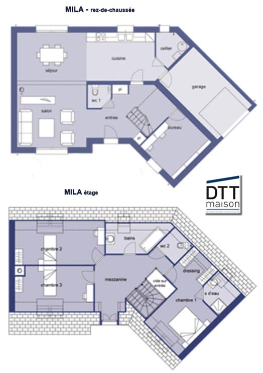 Faire construire une maison en v en seine et marne ma for Construire une maison avec 6 chambres