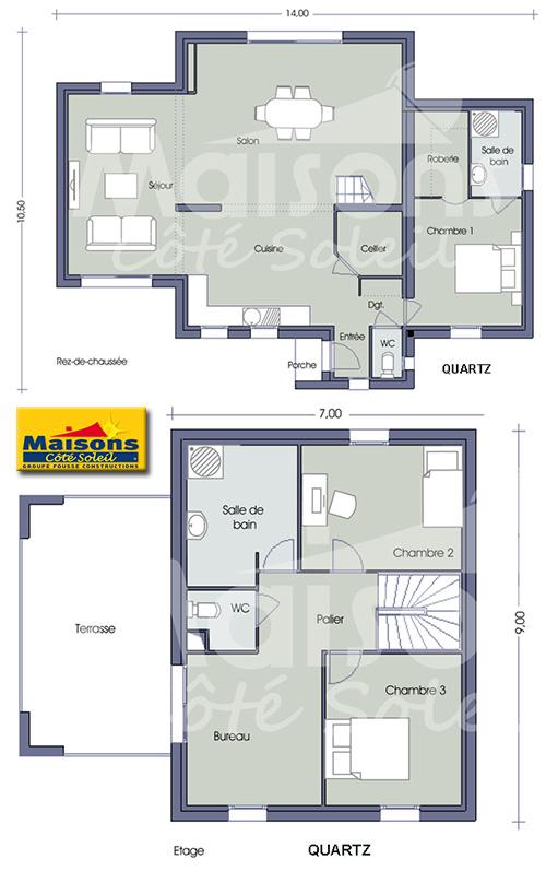 3 Modeles De Maisons A Etage En Aquitaine Ma Future Maison