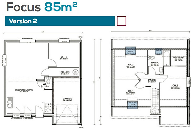 Superior separer une chambre en deux 11 focus85 for Separer chambre en 2