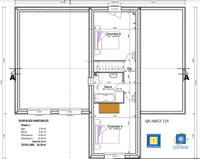 Faire Construire Une Maison Rt 2012 Le Modele Quartz De Maisons Sesame Ma Future Maison