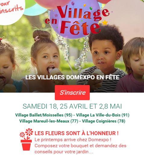 Les villages domexpo f tent les fleurs ma future maison for Domexpo meaux