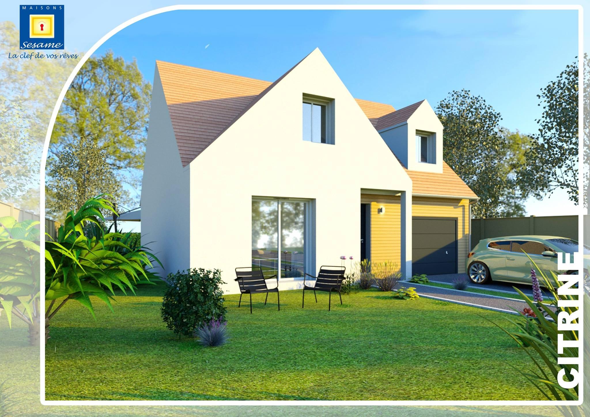Citrine, la petite maison spacieuse de Maisons Sesame - Ma Future Maison