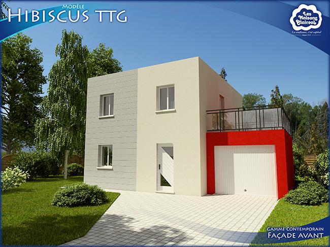 Modèle Hibiscus TTG de Maisons Clairval
