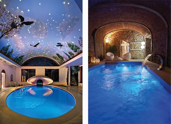 Piscine d 39 int rieur ma future maison - Maison piscine interieure ...