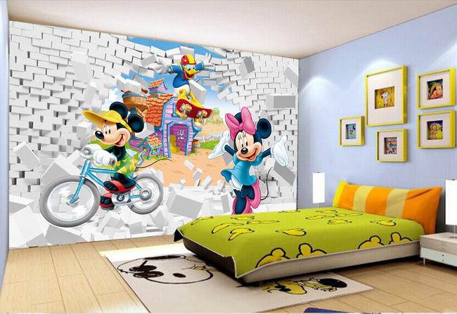 Papier Peint Mickey Ma Future Maison