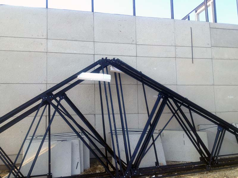 charpente metallique6 ma future maison. Black Bedroom Furniture Sets. Home Design Ideas