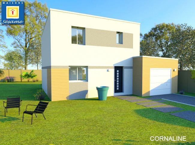 Le modèle Cornaline de Maisons Sésame