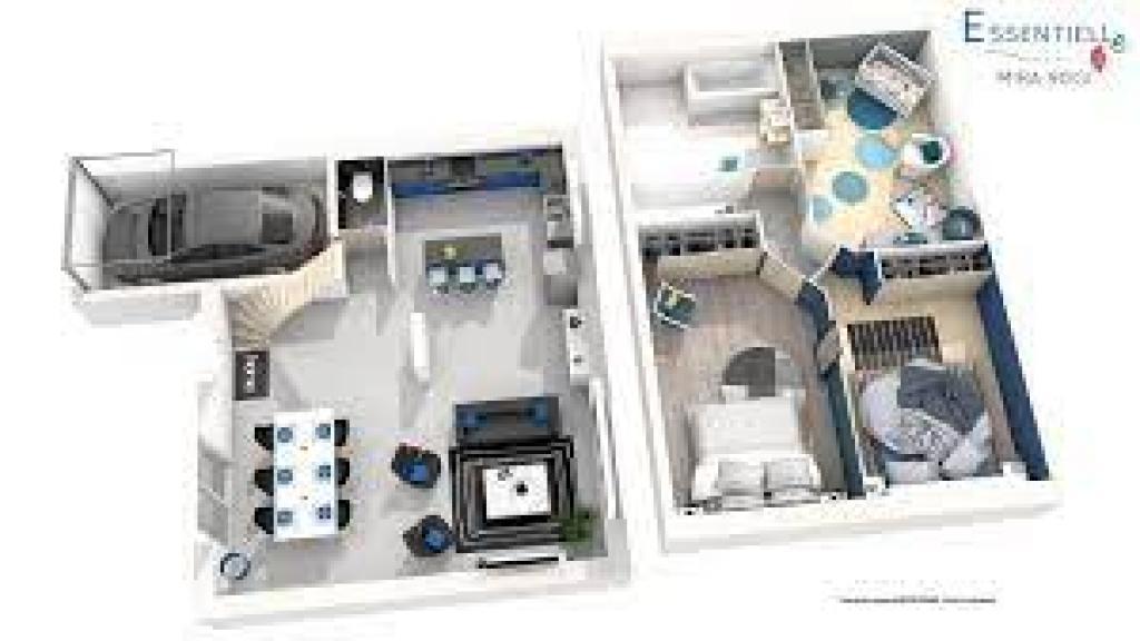maison en 3D