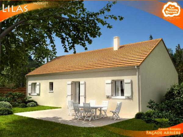Mod le et plans lilas du constructeur maisons clairval for Garage les lilas