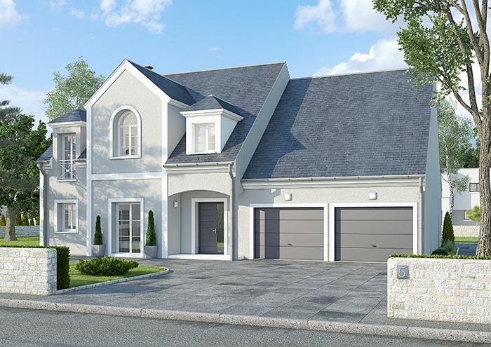 mod le et plans am ricaine du constructeur terre et demeure. Black Bedroom Furniture Sets. Home Design Ideas