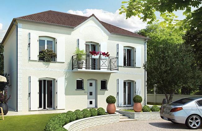 Maison avec tage with maison babeau seguin prix for Ajouter un tage sa maison prix