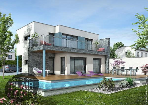Mod Le Et Plans Azur Du Constructeur Maisons Clair Logis