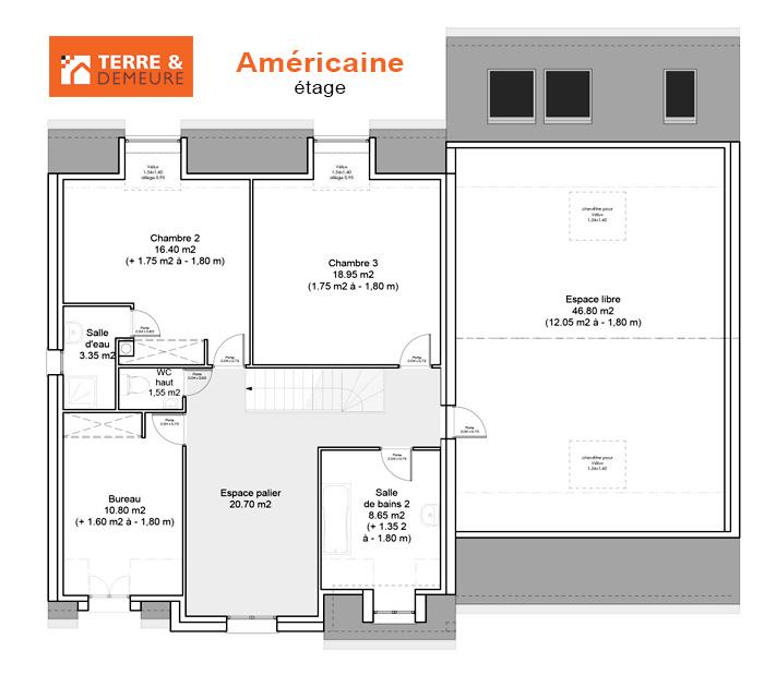 Plan Maison Americaine Ooreka 14