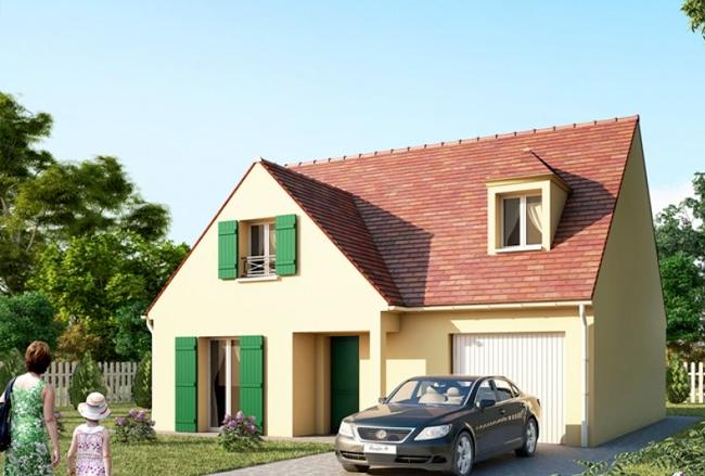 Mod le et plans evasion gi du constructeur maisons for Modele maison pierre