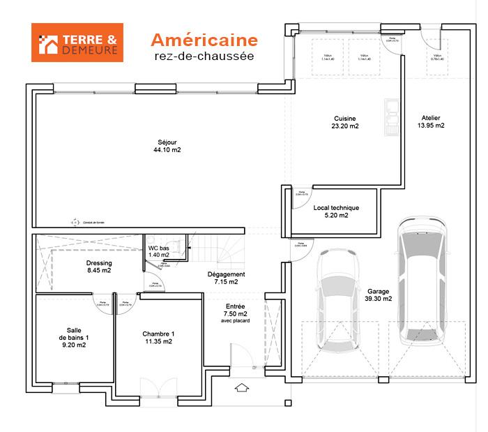 Plan De Maison Americaine Infos Et Ressources 13