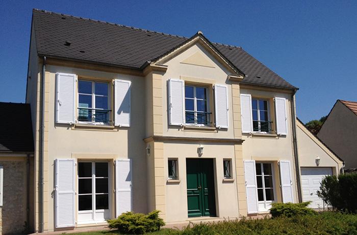 Mod le et plans plessis du constructeur maisons deal for Constructeur maison 64