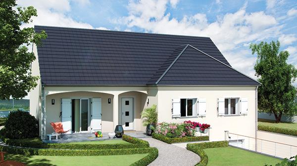 Mod le et plans focus 85 du constructeur maisons babeau for Constructeur de maison 01