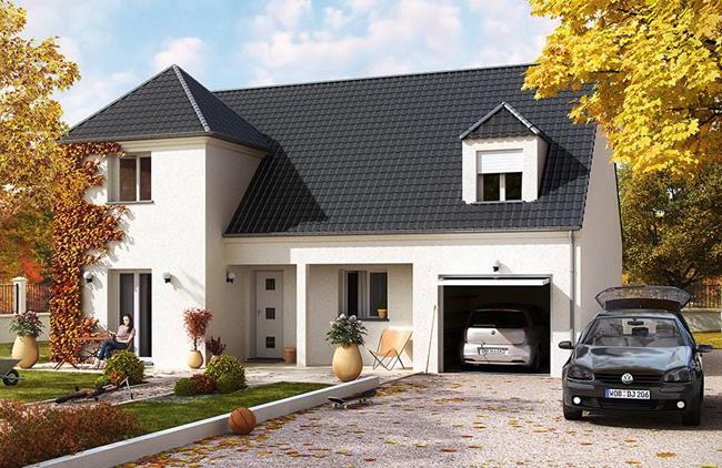 Maison babeau seguin top sdb et wc indpendant garage m - Maison traditionnelle becker bratsch ...