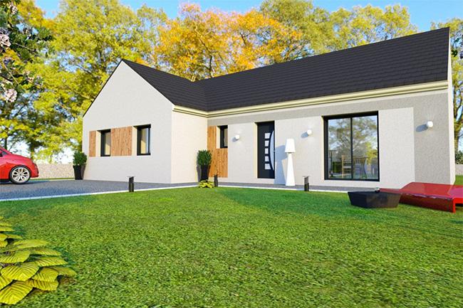 une maison de plain pied en anglais ventana blog. Black Bedroom Furniture Sets. Home Design Ideas
