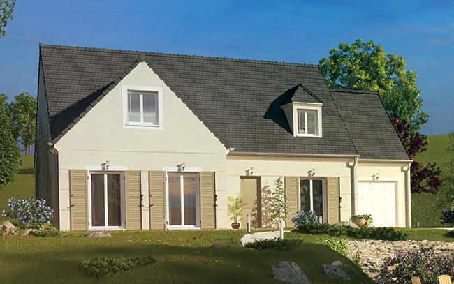 Mod le et plans cibelle du constructeur maisons pierre for Maison pierre modele orleans