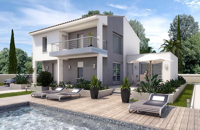 Recherche mod le de maison bouches du rh ne 13 ma future for Modele maison 160m2