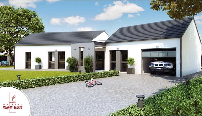 Mod le et plans versium du constructeur maisons babeau seguin - Modeles de maisons a construire ...