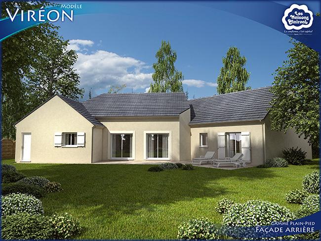 Mod le et plans vir on du constructeur maisons clairval for Modele maison constructeur