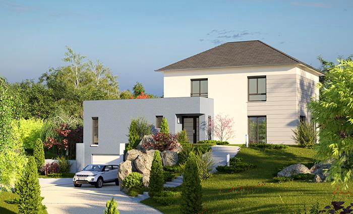 ma future maison mod le de maison terrain vendre. Black Bedroom Furniture Sets. Home Design Ideas