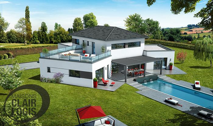 maison moderne haute garonne
