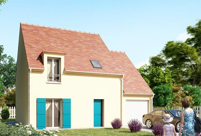 Mod le et plans noctuelle du constructeur maisons for Maison pierre modele noctuelle