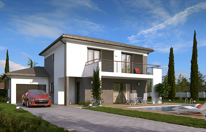 Mod le et plans tikehau du constructeur demeures caladoises for Constructeur maison individuelle tahiti