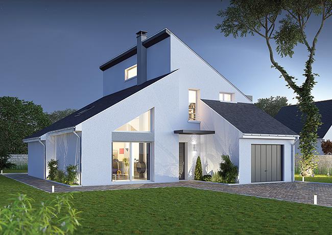Recherche mod le de maison ma future maison for Modele de maison contemporaine architecte